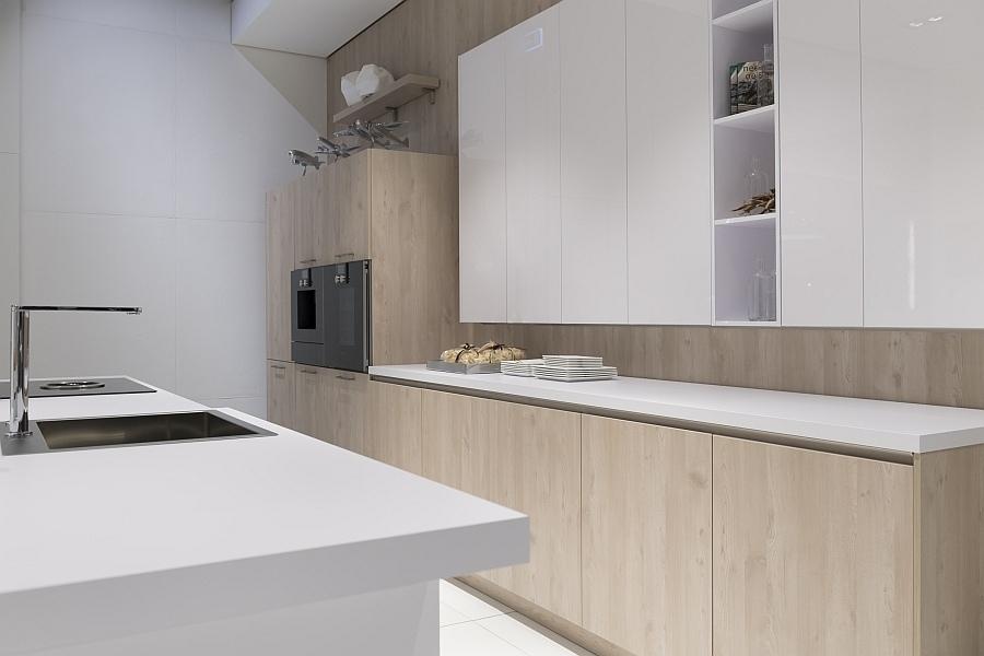 Nett Küchentheke Holz Bilder - Schlafzimmer Ideen - losviajes.info
